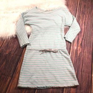 Victoria Secret | Mint Stripped Sweater Dress XS